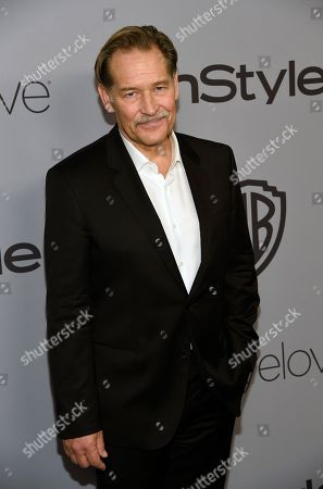 James Remar arrives at the InStyle and Warner Bros. Golden Globes afterparty at the Beverly Hilton Hotel, in Beverly Hills, Calif