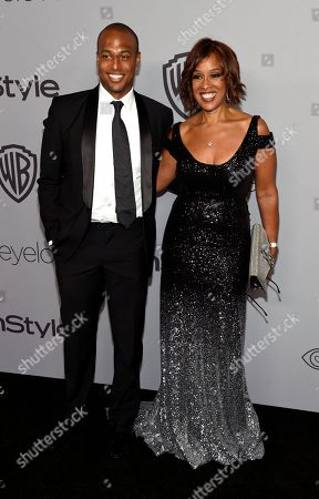 Gayle King, William Bumpus Jr. Gayle King, right, and William Bumpus Jr. arrive at the InStyle and Warner Bros. Golden Globes afterparty at the Beverly Hilton Hotel, in Beverly Hills, Calif