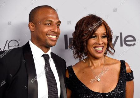 Stock Photo of Gayle King, William Bumpus Jr. Gayle King, right, and William Bumpus Jr. arrive at the InStyle and Warner Bros. Golden Globes afterparty at the Beverly Hilton Hotel, in Beverly Hills, Calif