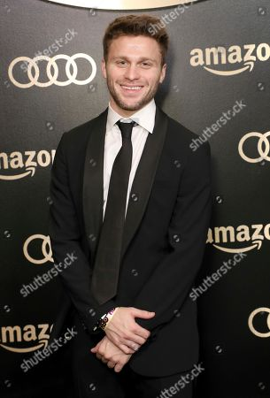 Jon Rudnitsky arrives at the Amazon Studios Golden Globes afterparty at the Beverly Hilton Hotel, in Beverly Hills, Calif