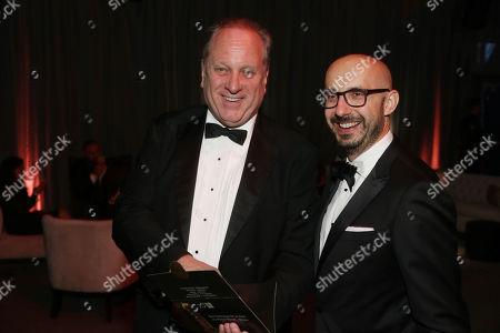 Douglas Urbanski, producer, and Peter Kujawski, Chairman of Focus Features