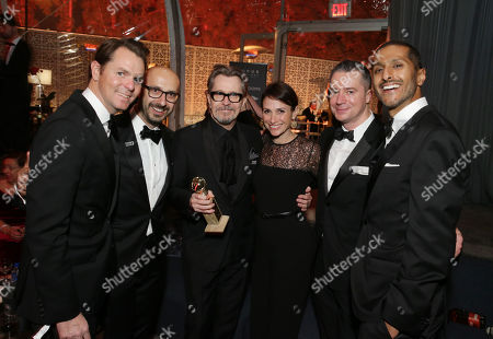 Jason Cassidy, President of Marketing for Focus Features, Peter Kujawski, Chairman of Focus Features, Dani Weinstein, Executive Vice President of Publicity for Focus Features, Robert Walak, President of Focus Features, and Abhijay Prakash, Chief Operating Officer of DreamWorks Animation,