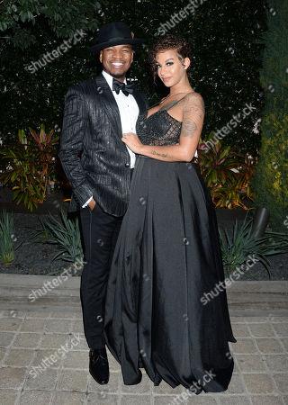 Ne-Yo and wife Crystal Renay