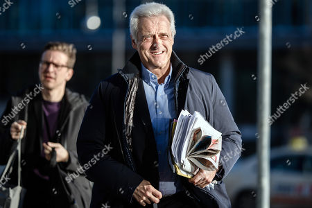 Christian Social Union (CSU) politician Peter Ramsauer arrives for exploratory talks at the Christian Democrats (CDU) party headquarters 'Konrad-Adenauer-Haus' in Berlin, Germany, 08 January 2018. The leaders of the CDU, their Bavarian sister party Christian Social Union (CSU) and the Social Democratic Party (SPD) hold exploratory talks at the parties' headquarters through 11 January 2018.
