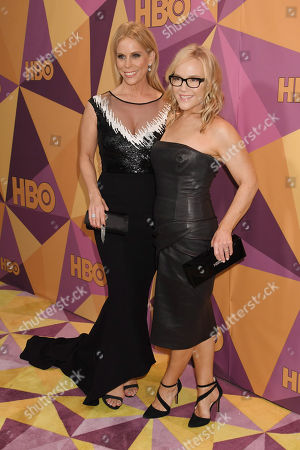 Editorial photo of HBO Golden Globes After Party, Arrivals, Los Angeles, USA - 07 Jan 2018