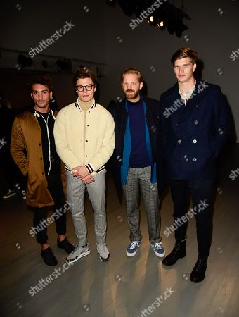 Stock Photo of Deano Bugatti, Oliver Cheshire, Alistair Guy, Toby Huntington-Whiteley