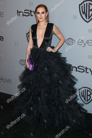 Editorial picture of InStyle and Warner Bros Golden Globes After Party, Arrivals, Los Angeles, USA - 07 Jan 2018