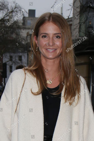 Editorial picture of Millie Macintosh and Hugo Taylor out and about, London, UK - 08 Jan 2018