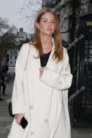 Stock Image of Millie Mackintosh at 180 Strand, Men's Fashion Week