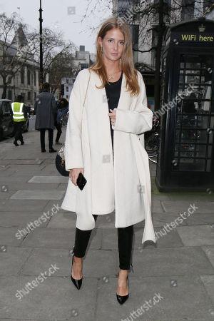 Millie Mackintosh at 180 Strand, Men's Fashion Week
