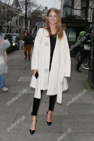 Editorial image of Millie Macintosh and Hugo Taylor out and about, London, UK - 08 Jan 2018