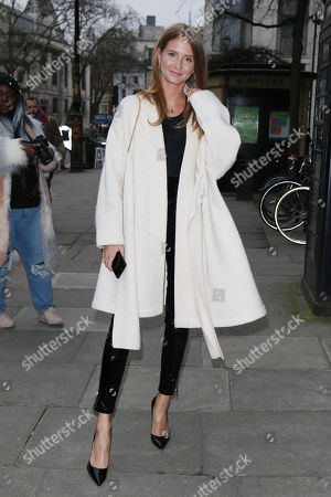 Stock Picture of Millie Mackintosh at 180 Strand, Men's Fashion Week