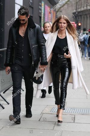 Hugo Taylor & Millie Mackintosh at 180 Strand, Men's Fashion Week