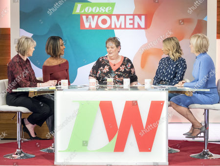 Ruth Langsford, Kelli Young, Anne Hegerty, Stacey Solomon and Jane Moore