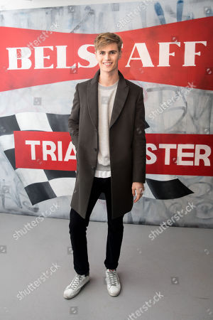 Editorial image of Belstaff AW18 Men's and Women's Presentation at London Fashion Week Men's in London, UK - 8 Jan 2018.