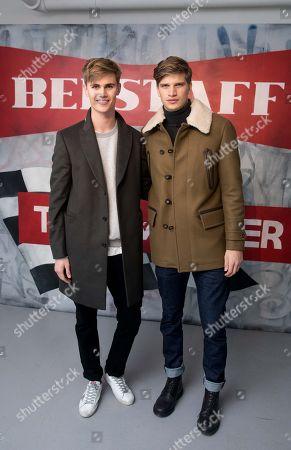 Editorial photo of Belstaff AW18 Men's and Women's Presentation at London Fashion Week Men's in London, UK - 8 Jan 2018.
