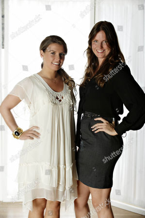 Stock Picture of 'Coleen's Real Women'  - Coleen Rooney and Camilla Johnson-Hill.