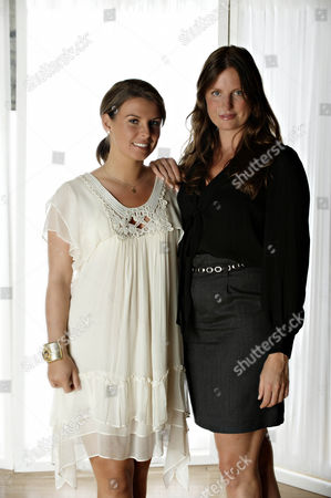 'Coleen's Real Women'  - Coleen Rooney and Camilla Johnson-Hill.