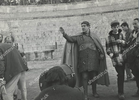 'Behind the Scenes' photo of the 1966 Richard Lester Musical Comedy Film 'A Funny Thing Happened on The Way To The Forum'