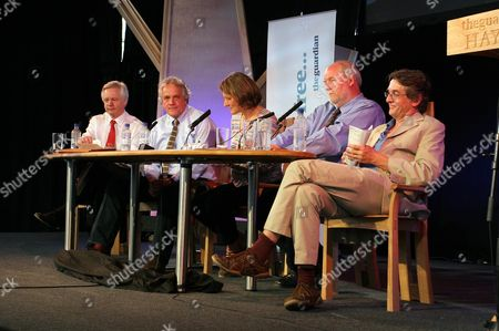 David Davis MP, Henry Porter novelist and political columnist for the Observer, Georgina Henry, The Guardian's executive comment editor, Charles Clarke MP and Conor Gearty, Professor of Law at the London School of Economics