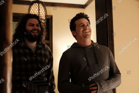 Stock Picture of Dustin Ybarra, Jason Ritter