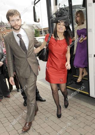 Alison King and partner Adam Huckett