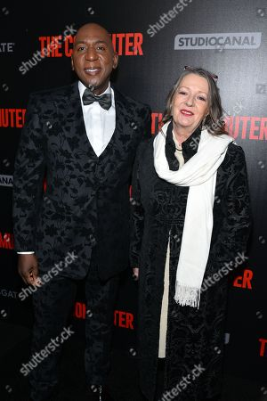 Colin McFarlane and guest