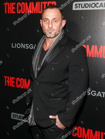 "Roland Moller attends the premiere of ""The Commuter"" at AMC Loews Lincoln Square, in New York"
