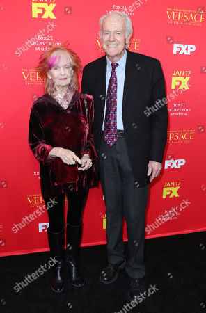 Stock Photo of Shelley Fabares and Mike Farrell