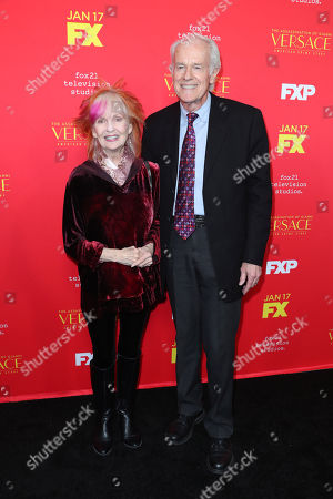 Stock Picture of Shelley Fabares and Mike Farrell