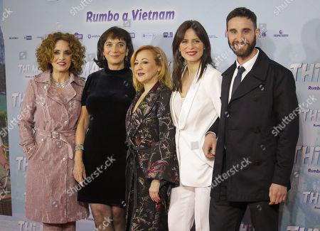 Carmen Machi, Aitana Sánchez-Gijón and Dani Rovira