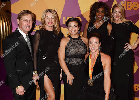 Stock Photo of Bart Conner, Nadia Comaneci, Laurie Hernandez, Tatyana McFadden,
