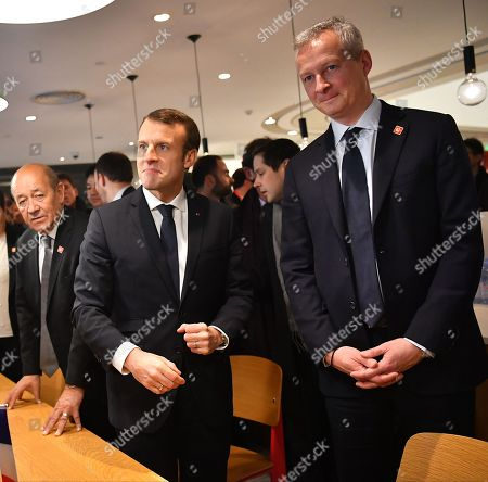 Editorial picture of French President Emmanuel Macron visit to China - 09 Jan 2018