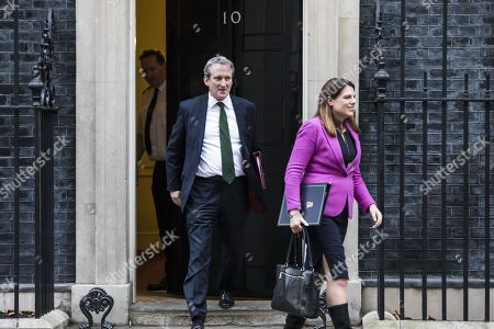 Damian Hinds and Caroline Noakes leave 10 Downing Street