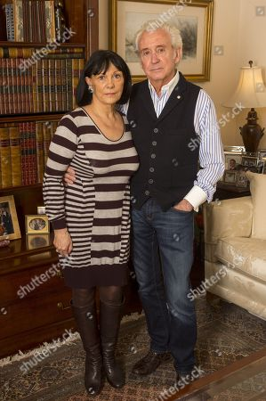 Singer Tony Christie And His Wife Sue Back Home In Litchfield Following An Attack On Their Tour Bus By Immigrants At A Petrol Station In Dunkirk. 11/12/2016 Reporter Tim Lamden Exc Print Before Web /.