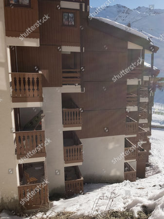 Editorial image of Some Of The Balconies Of Le Cheval Blanc The Hotel Apartments Where Matt Smith A British Student Died On Sunday Morning. Matt Was On The First Day Of A Varsity Trip Along With Many Other Oxford And Cambridge Students 2016/12/05 Picture By Georgie Gil