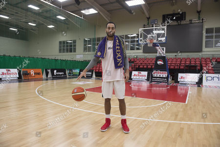 Stock Picture of Joshua Ward-hibbert British Tennis Player Now Turned Professional Basketball Player For The Leicester Riders.