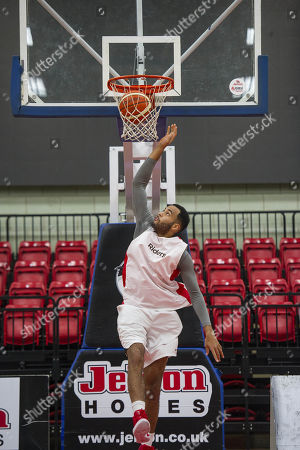 Editorial picture of Joshua Ward-hibbert British Tennis Player Now Turned Professional Basketball Player For The Leicester Riders.