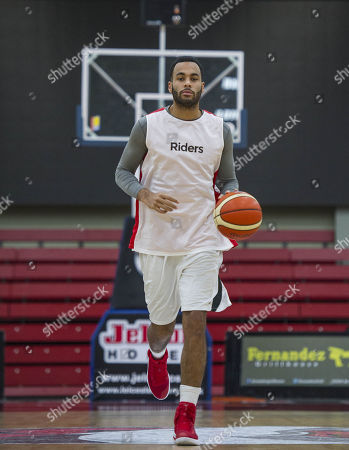 Editorial photo of Joshua Ward-hibbert British Tennis Player Now Turned Professional Basketball Player For The Leicester Riders.