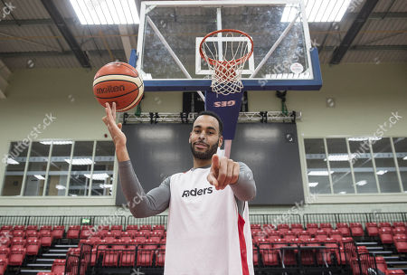 Stock Image of Joshua Ward-hibbert British Tennis Player Now Turned Professional Basketball Player For The Leicester Riders.