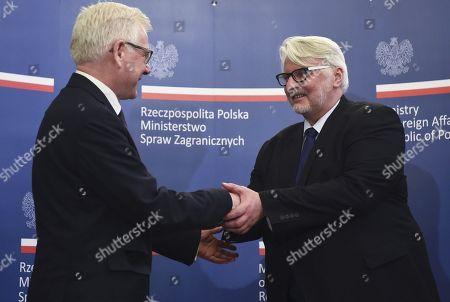Witold Waszczykowski and Jacek Czaputowicz