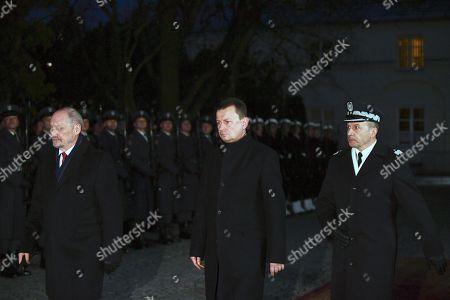 Antoni Macierewicz, Mariusz Blaszczak and Robert Glab