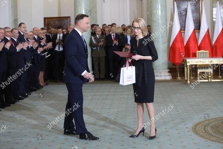 Andrzej Duda and Teresa Czerwinska