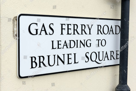Editorial photo of Gas Ferry Road and Steamship House near the SS Great Britain tourist attraction, Bristol, UK - 05 Aug 2017