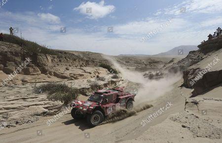 Editorial photo of Fourth stage of the 2018 Dakar rally, San Juan Marcona, Peru - 09 Jan 2018