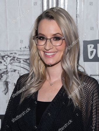 """Ingrid Michaelson participates in the BUILD Speaker Series to discuss the new film """"Humor Me"""" at AOL Studios, in New York"""