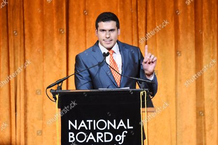 Editorial photo of The National Board of Review Awards Gala, Inside, New York, USA - 09 Jan 2018