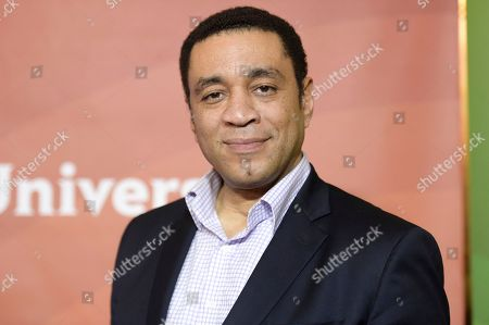 Harry Lennix attends the red carpet event during the NBCUniversal Television Critics Association Winter Press Tour, in Pasadena, Calif
