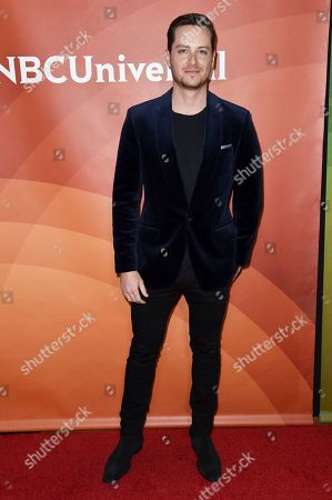 Jesse Lee Soffer attends the red carpet event during the NBCUniversal Television Critics Association Winter Press Tour, in Pasadena, Calif