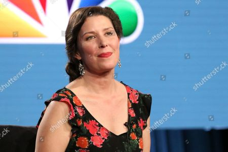 """Stock Image of Jean Villepique participates in the """"A.P. Bio"""" panel during the NBCUniversal Television Critics Association Winter Press Tour, in Pasadena, Calif"""